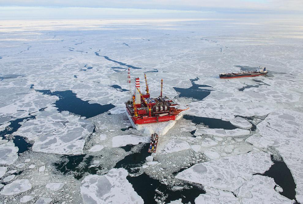 33. «Приразломная» — это единственный проект в мире, где добыча в Арктике осуществляется со стациона