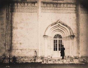 Вид на северный портик Успенского собора. Московская губерния
