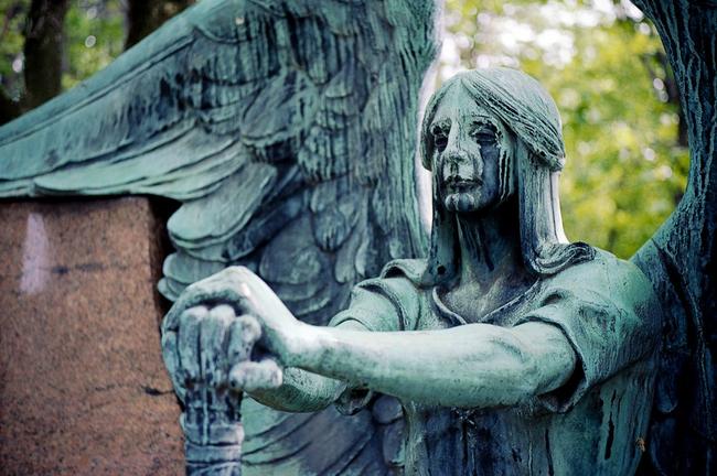 Ангел на могилу - Изготовление памятников