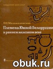 Племена Южной Белоруссии в раннем железном веке