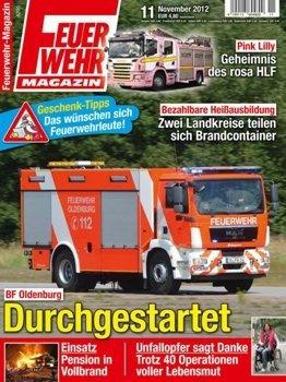 Журнал Feuerwehr Magazin №11 2012