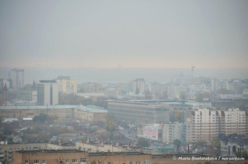Соколовогорские закаты, Саратов, парк Победы, 21 октября 2014 года