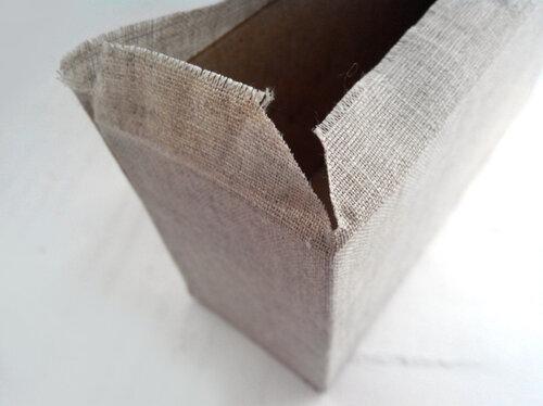 Коробка для чая с текстильными сладостями