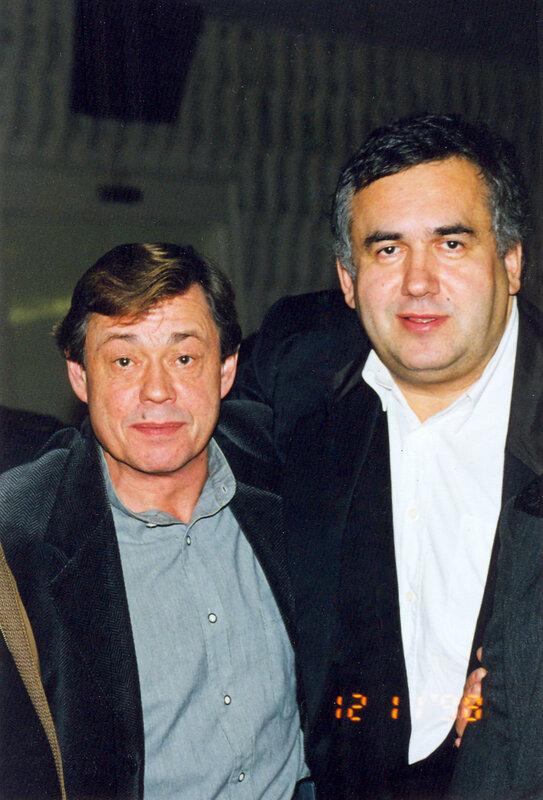 Стас Садальский, Николай Караченцов