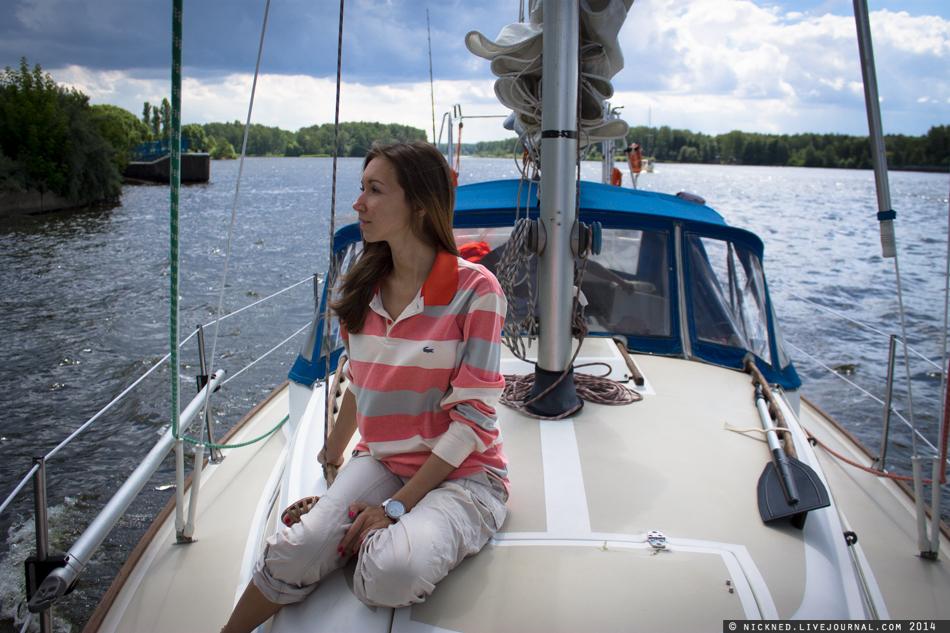 Можно ли жить на яхте в москве