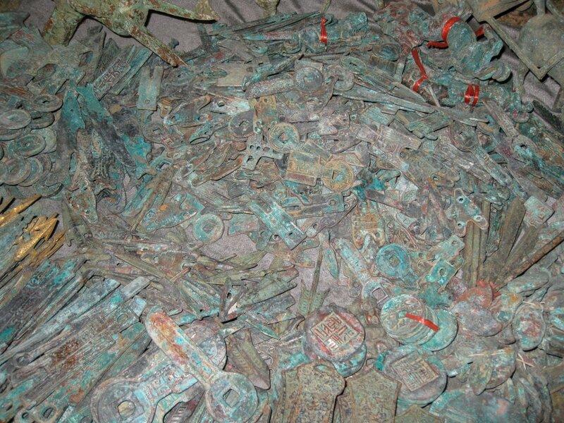 Изделия из бронзы, рынок Паньцзяюань, Пекин