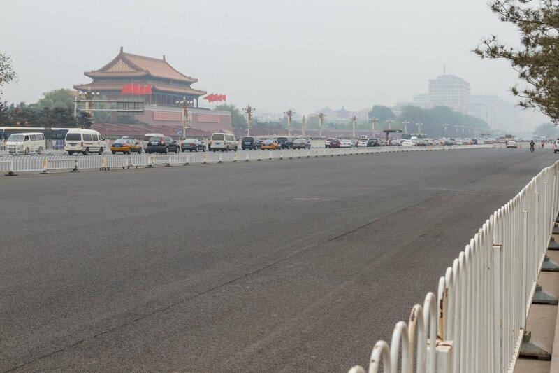 Проспект Чанъань, Пекин
