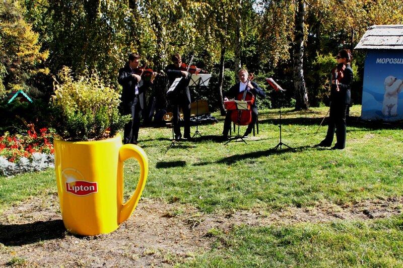 Музыканты на Певческом поле