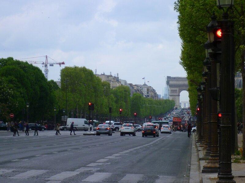 Париж, Елисейские поля (Paris, Champs-Elysees)