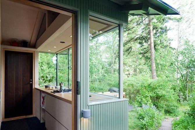 Маленький домик для гостей