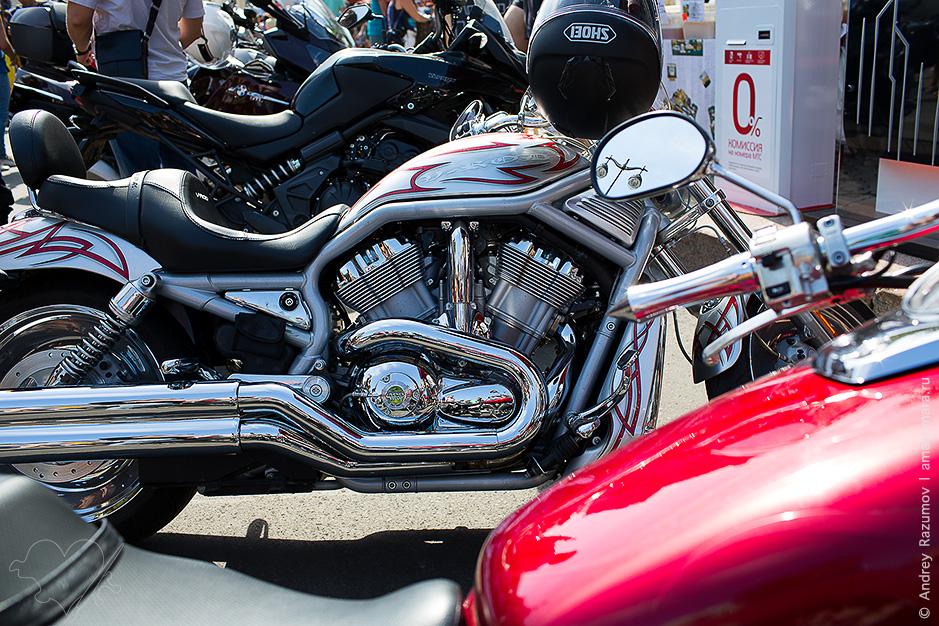 Фестиваль Harley-Davidson на площади Островского