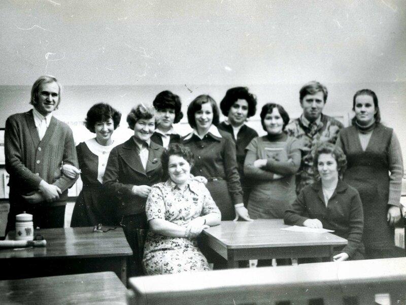 Лаборатоория НТИ. 1978 год
