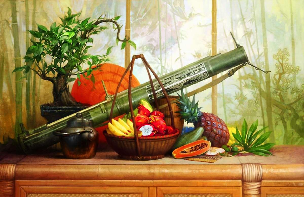 Оружейный натюрморт от студии Geliografic (3)