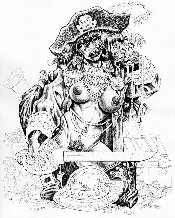 Графика: истории из жизни девушек - пираток (30)