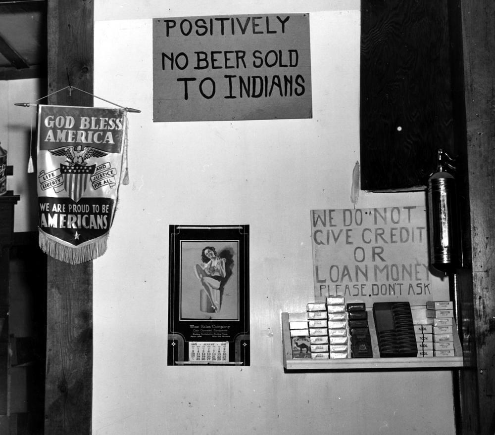 Индейцам пиво не продаем