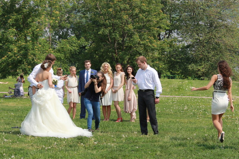 Жених и невеста..