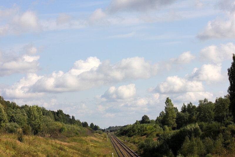 Небо над станцией Лямцево