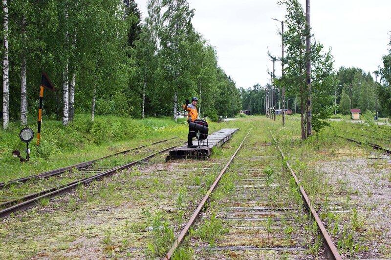 платформа на станции Суолахти (Suolahti)