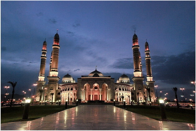 Мечеть Аль-Салех. Сана, Йемен