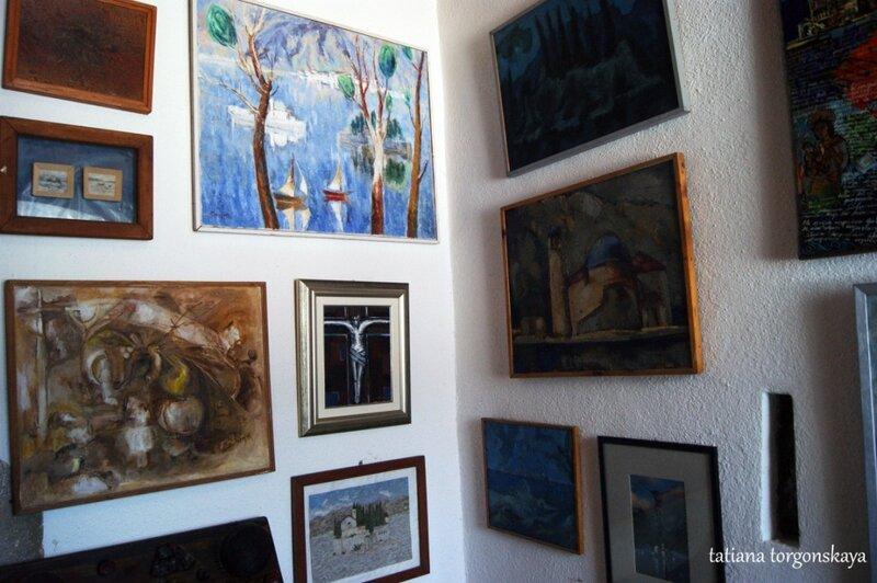Картиная галерея  в музее церкви