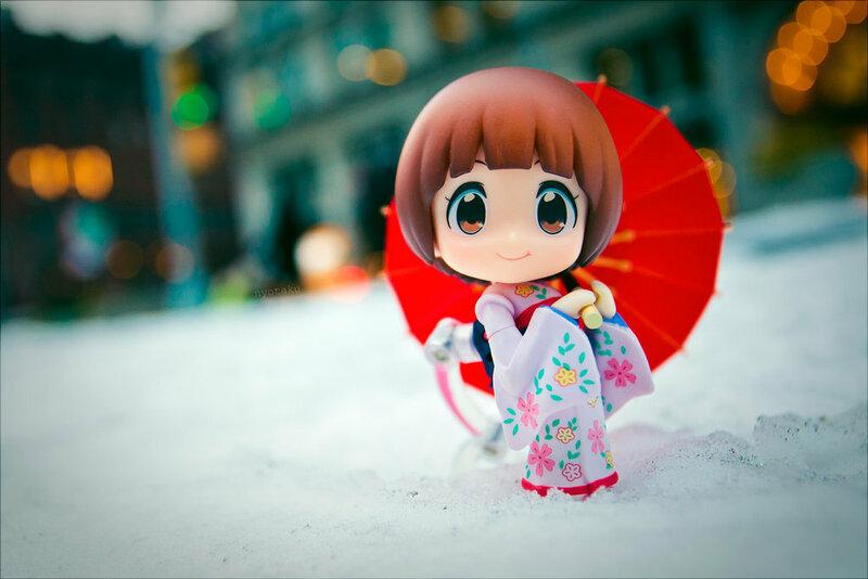 Японские куклы в Нью-Йорке. Фотограф - отаку.