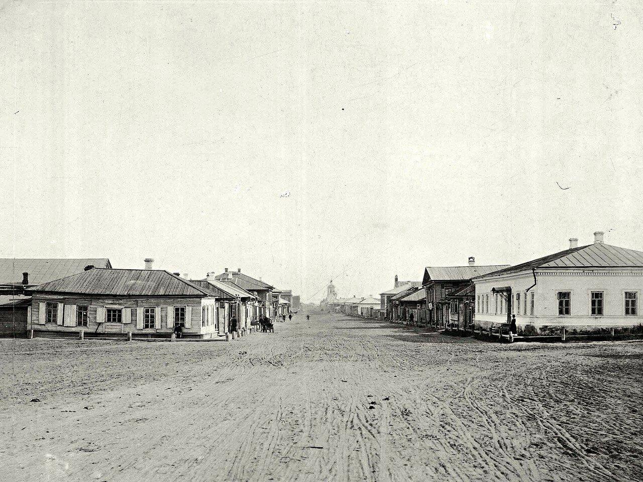 Перспектива Благовещенской улицы в направлении на северо-восток
