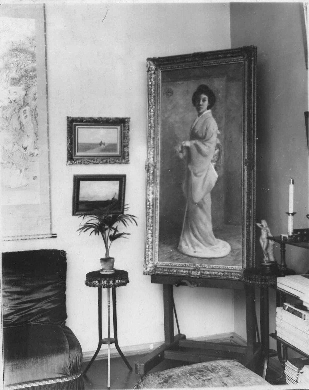 06. Уголок гостиной. 1910