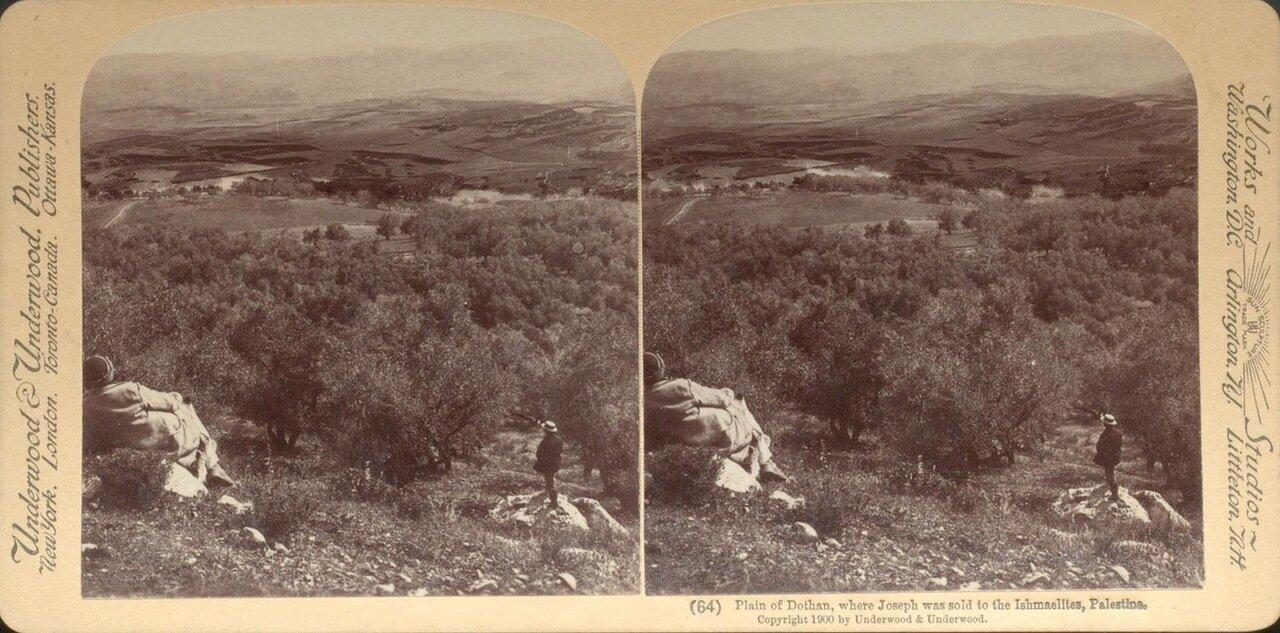 Самария. Долина Дотан. 1900