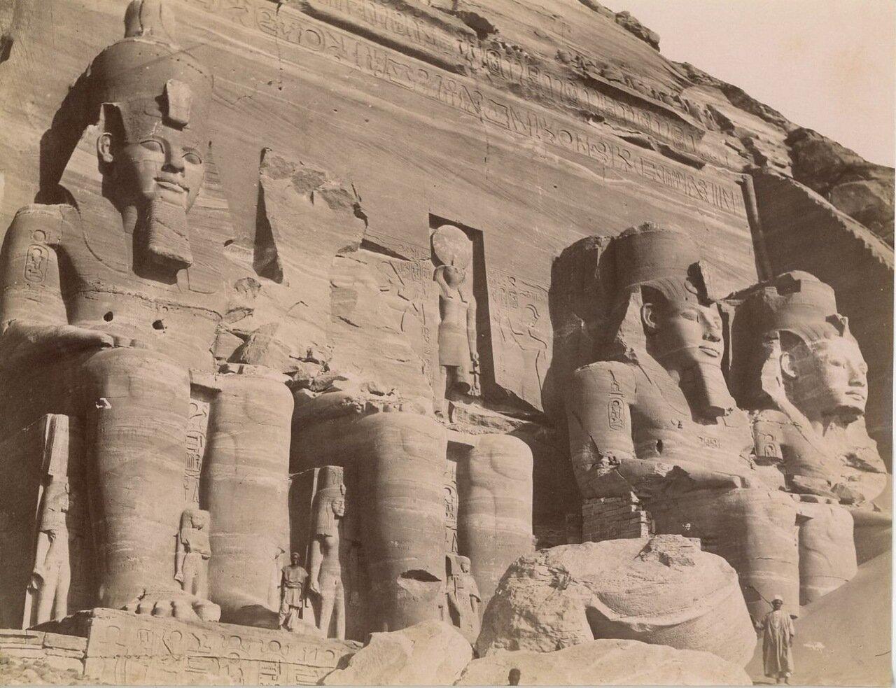 Абу-Симбел. 1880