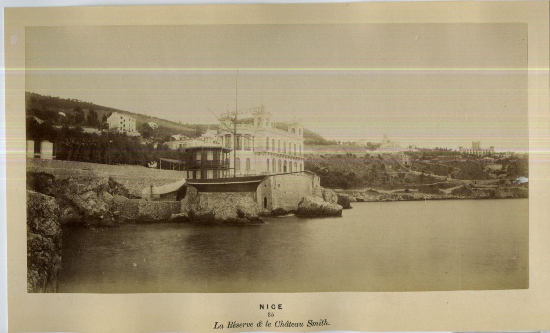 1875. Ресторан «La Réserve» и шато Смита