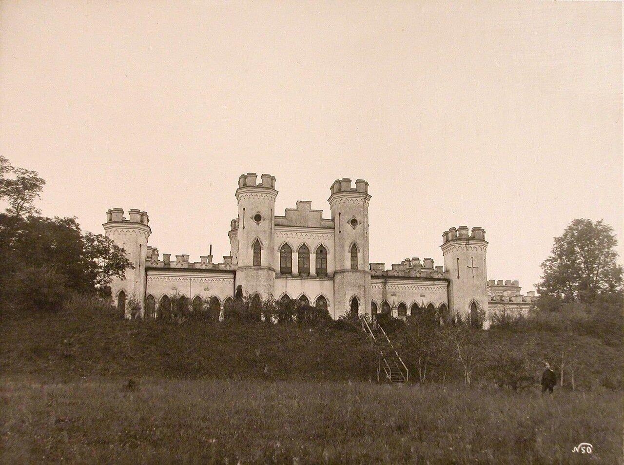 12. Вид фасада здания,где размещался штаб 24-го армейского корпуса (имение Марачевщина)