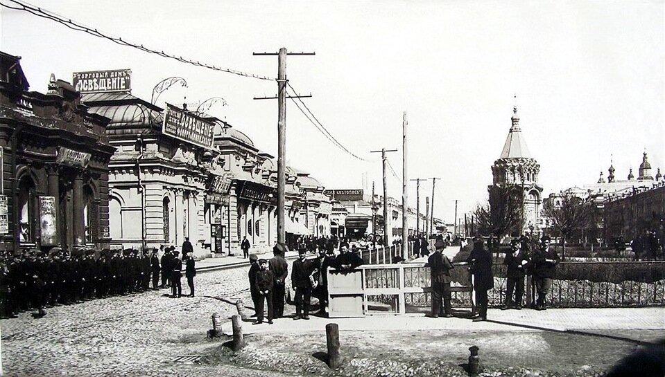 Фруктовый ряд на Сергиевской площади