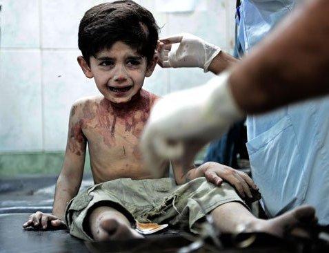 Сирийский мальчик.