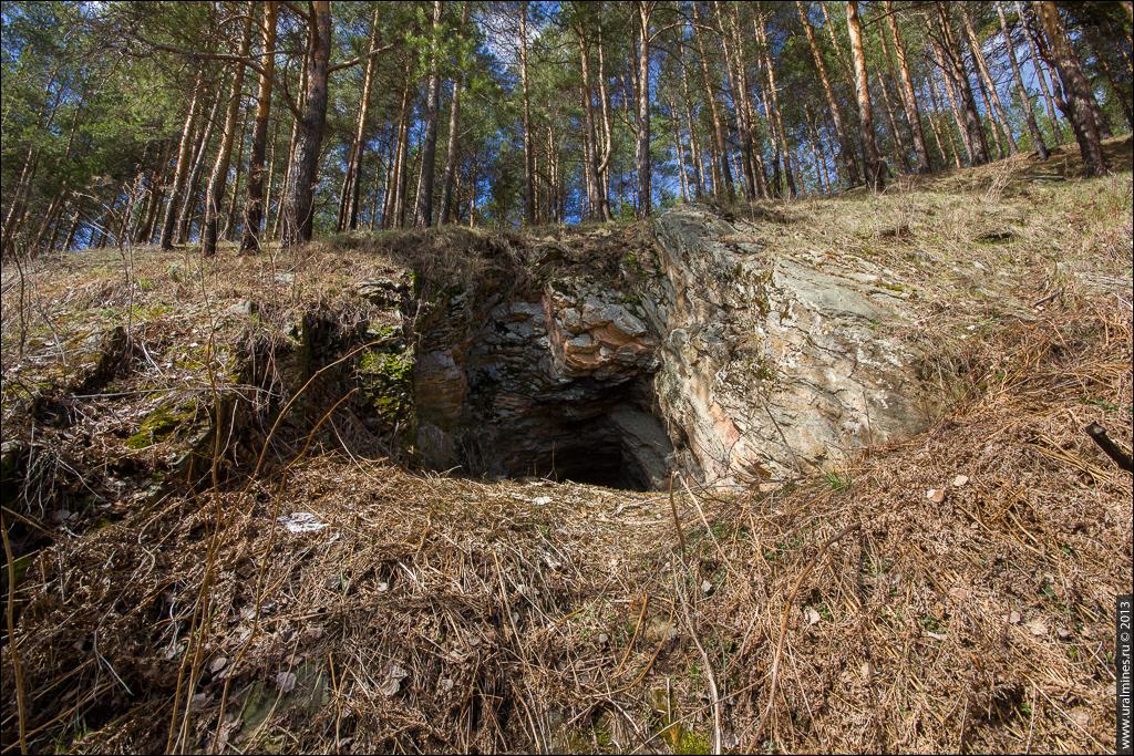 Подволошный серебряный рудник
