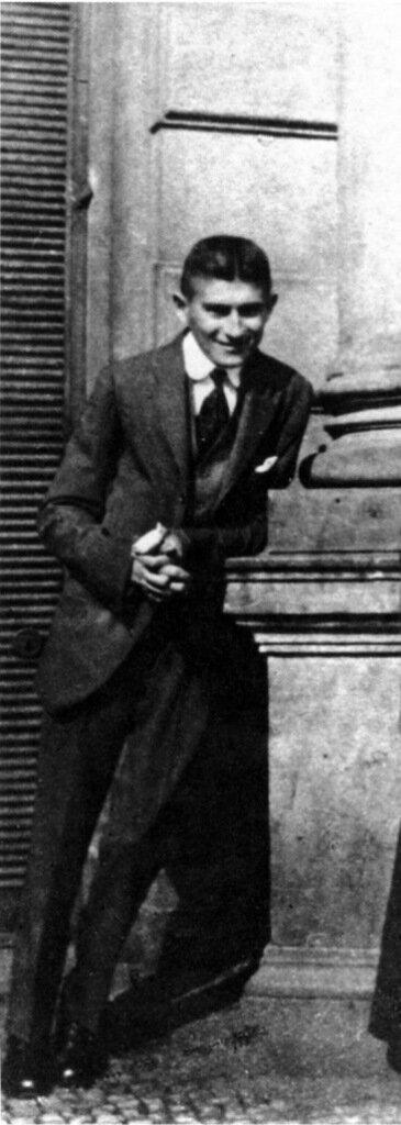 Kafka smiling