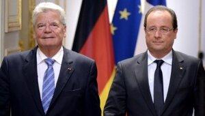 Президенты Франции и Германии почтили память солдат Первой мировой