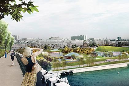 Московский парк «Зарядье» будет открыт в 2017 году