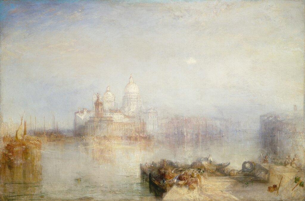 Venice, Dogano and Santa Maria della Salute, 1843.jpg