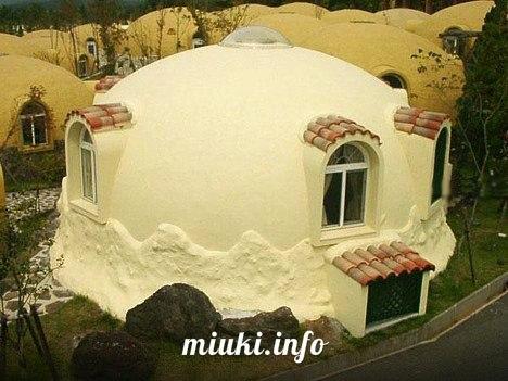 Японские дома из пенопласта. Жилье ХХI века