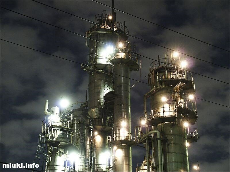 Заводы Японии  (33 фотографии)