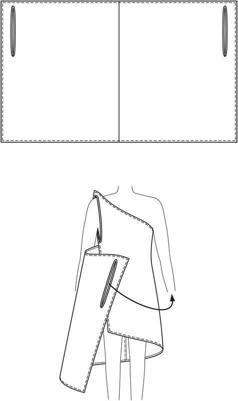 пляжное платье с выкройкой