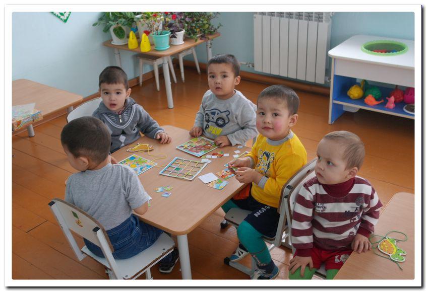 I-Иткуловские детишки рады новому детскому саду.