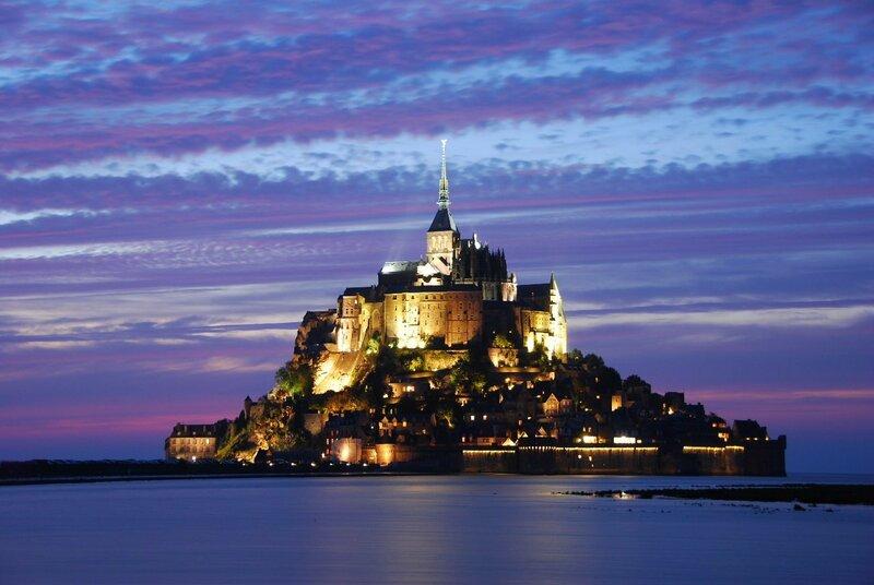 Замок Мон-Сен-Мишель