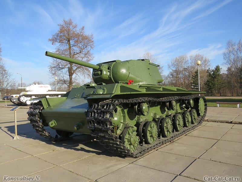 Тяжёлый танк КВ-1С. Музей-диорама «Прорыв блокады Ленинграда»