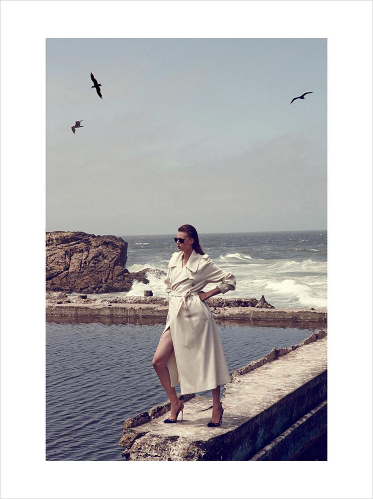 Лаура Сеганти в журнале Marie Claire Italia