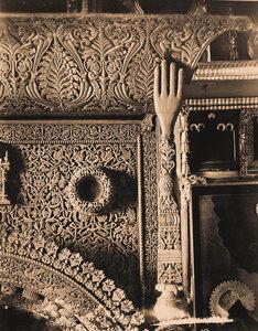 Деталь царских врат в церкви Иоанна Предтечи в Толчкове. Ярославль г.