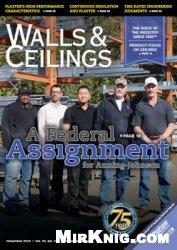 Журнал Walls & Ceilings - №11 2013