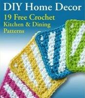 Книга DIY Home Decor 19 Free Crochet Kitchen Dining Patterns jpg  62Мб