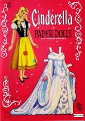 Cinderella. Paper Dolls