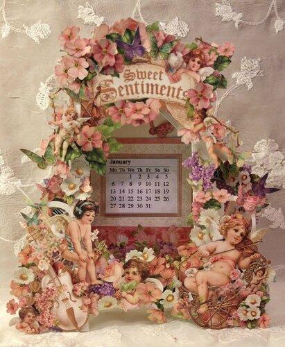 Календарь с ангелами